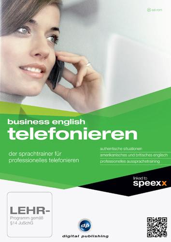 Verpackung von Business English Telefonieren [PC-Software]