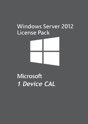 Verpackung von Microsoft Windows Server 2012 - 1 Device CAL [PC-Software]