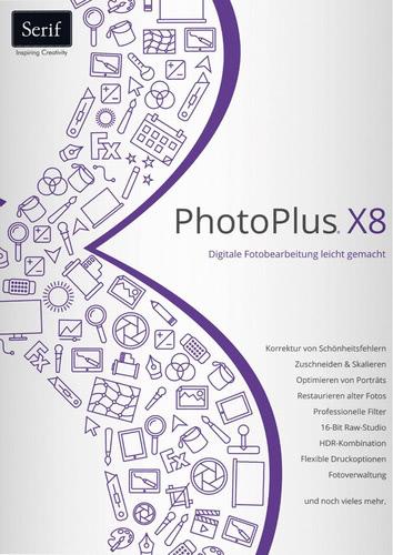 Verpackung von PhotoPlus X8 [PC-Software]