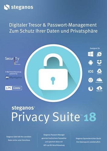 Verpackung von Steganos Privacy Suite 18 [PC-Software]