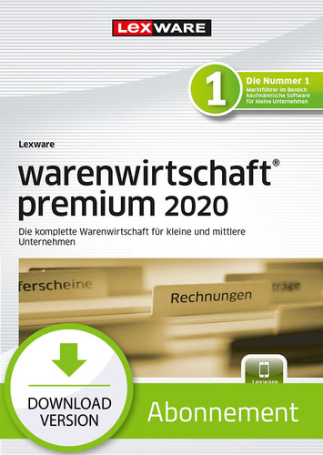 Lexware warenwirtschaft premium 2020 – Abo-Version (Download), PC