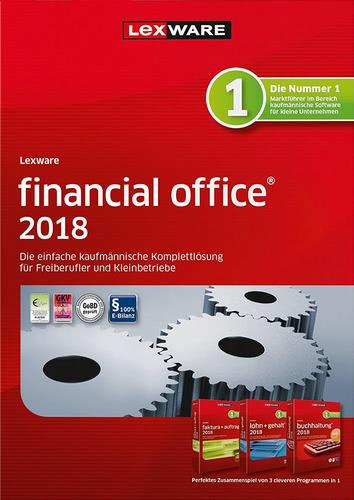 Verpackung von Lexware financial office 2018 Jahresversion (365-Tage) [PC-Software]