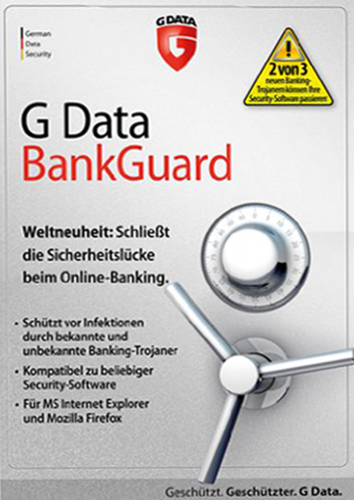 Verpackung von G Data BankGuard [PC-Software]