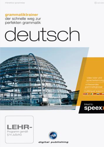 Verpackung von Grammatiktrainer Deutsch [PC-Software]