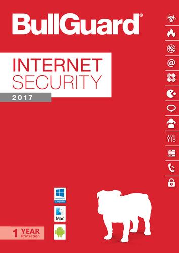 Packaging by BullGuard Internet Security 2017 Multiplatform 1 Device / 12 Months [MULTIPLATFORM]