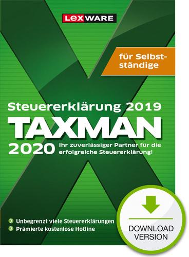 TAXMAN 2020 für Selbstständige (für Steuerjahr 2019) (Download), PC