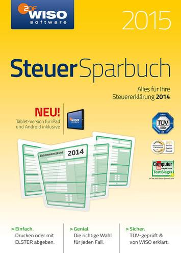 Verpackung von WISO Steuer-Sparbuch 2015 (für Steuerjahr 2014) [PC-Software]