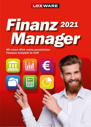 Verpackung von FinanzManager 2021 [PC-Software]