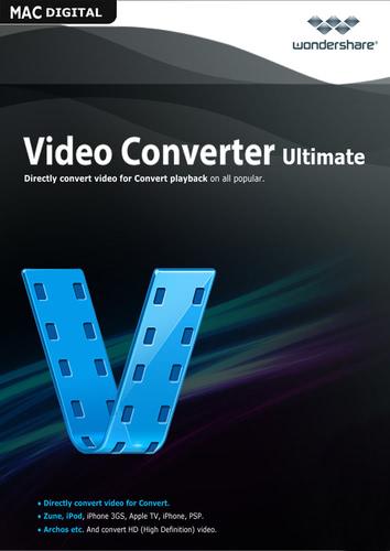 Packaging by Wondershare Video Converter Ultimate für Mac (Version 2017) - Lifetime License [Mac-software]