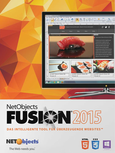 NetObjects Inc. Fusion 2015, ESD (Download) (PC)