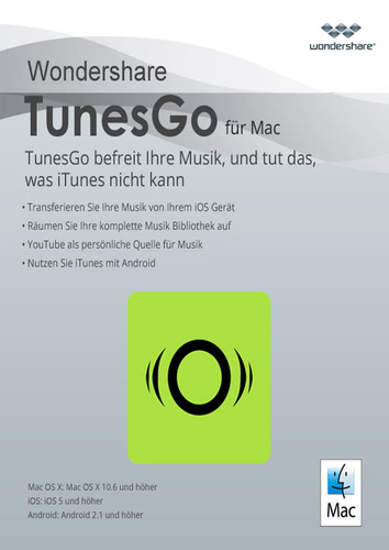 Wondershare TunesGo (Mac) – Android Geräte