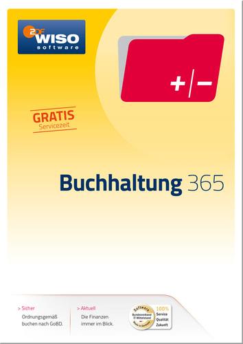 Verpackung von WISO Buchhaltung 365 Tage [PC-Software]