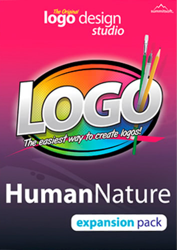 Packaging by Logo Design Studio Expansion Pack: Human Nature [PC-software]