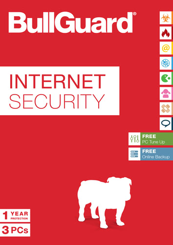 Verpackung von BullGuard Internet Security 2017 3 User / 12 Monate [PC-Software]