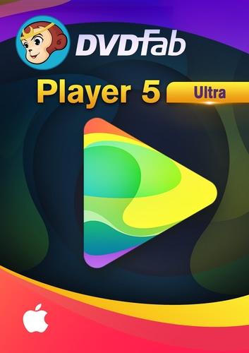 Verpackung von DVDFab Player 5 Ultra für MAC - 24 Monate Ultra [Mac-Software]