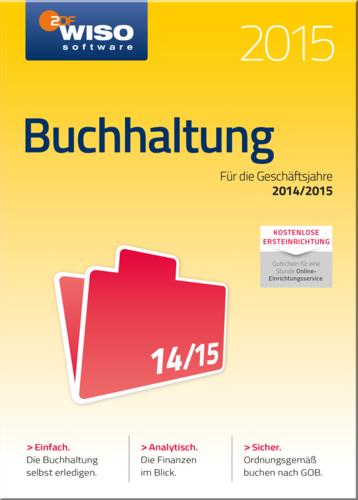 Verpackung von WISO Buchhaltung 2015 [PC-Software]