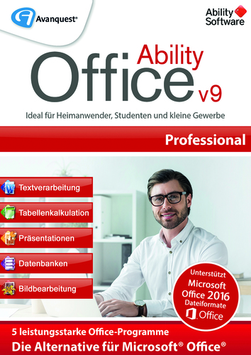 Verpackung von Ability Office 9 Professional [PC-Software]