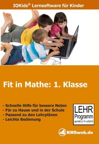 Verpackung von Fit in Mathe 1. Klasse [PC-Software]