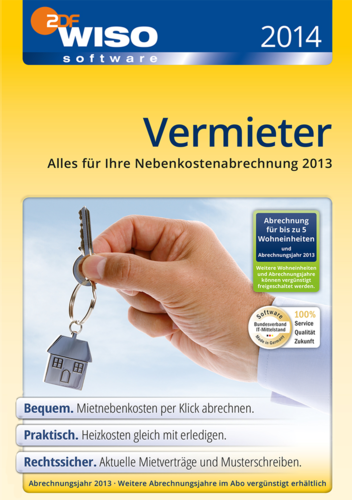 WISO Vermieter 2014, ESD (Download) (PC)