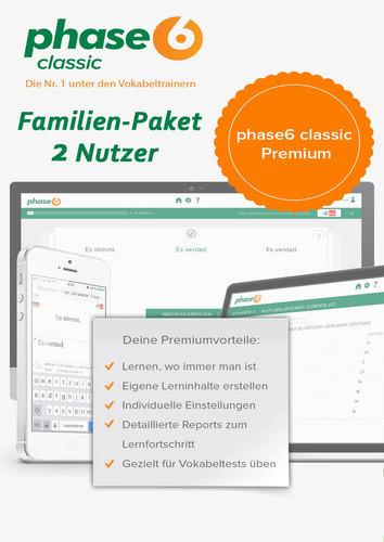 Verpackung von phase-6 classic Premium (2017) inklusive App für Android & iOS - 2 Nutzer / 12 Monate [MULTIPLATFORM]
