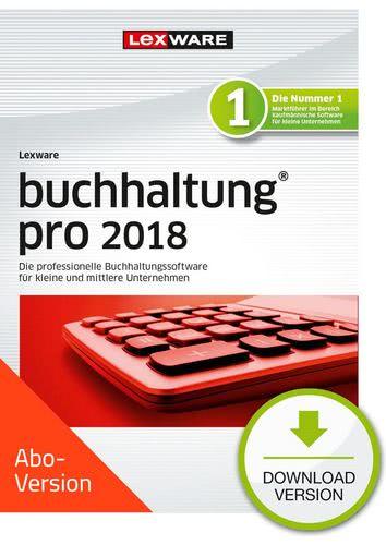 Verpackung von Lexware buchhaltung pro 2018 Download - Abo Version [PC-Software]