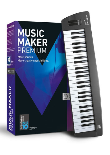 Verpackung von Magix Music Maker Control (2017) [PC-Software]