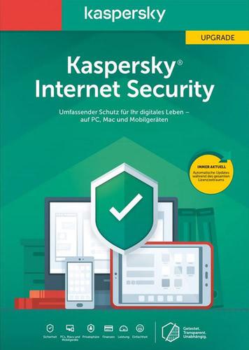 Verpackung von Kaspersky Internet Security 2020 Upgrade - 1 Gerät / 12 Monate [MULTIPLATFORM]