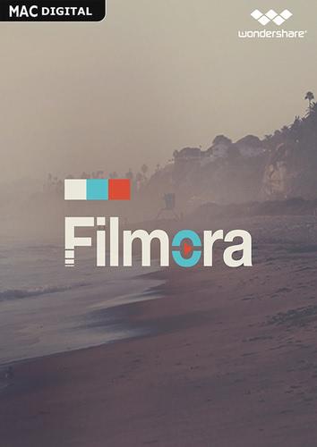 Verpackung von Wondershare Filmora Video Editor für Mac (Version 2017) - lebenslange Lizenz [Mac-Software]