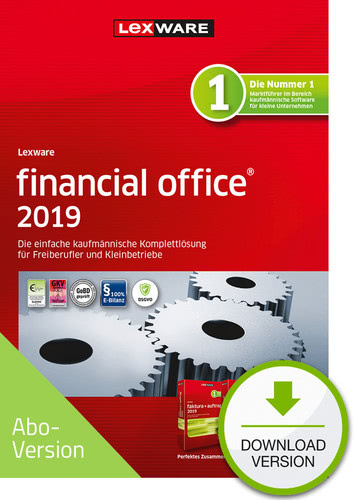 Verpackung von Lexware financial office 2019 Download - Abo Version [PC-Software]