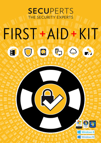 Packaging by SecuPerts First Aid Kit [PC-software]