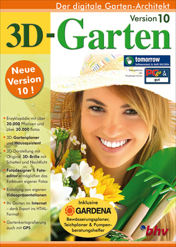3D-Garten 10 (Download), PC