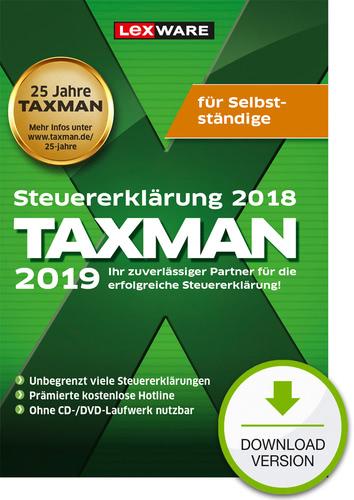 Verpackung von TAXMAN 2019 für Selbstständige [PC-Software]