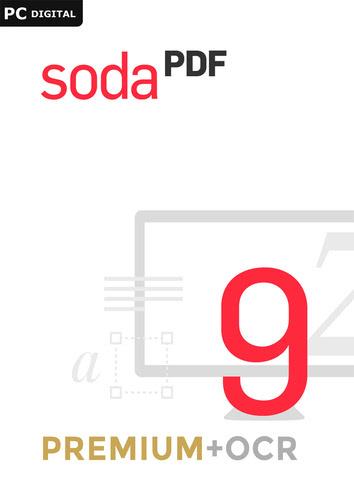 Verpackung von Soda PDF Premium + OCR 9 [PC-Software]