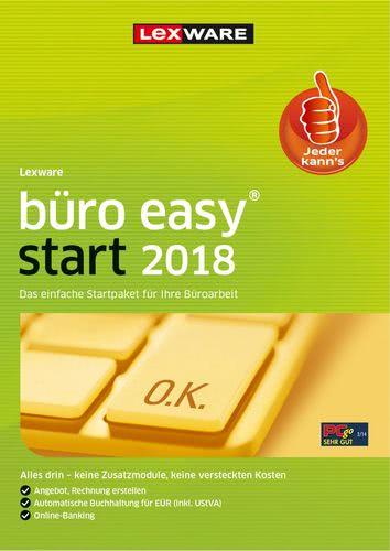 Verpackung von Lexware büro easy start 2018 Jahresversion 365-Tage [PC-Software]