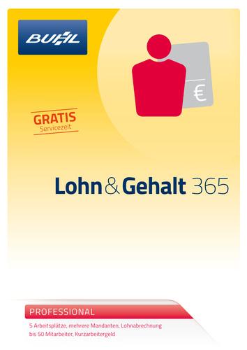 Buhl Lohn & Gehalt Professional 365 Tage
