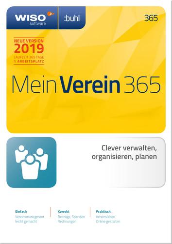 Verpackung von WISO Mein Verein 365 (2019) [PC-Software]