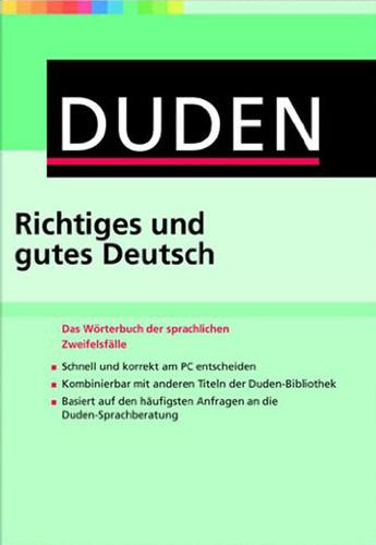 Verpackung von Duden Richtiges und gutes Deutsch 9 [Mac-Software]