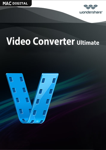 Verpackung von Wondershare Video Converter Ultimate für Mac - lebenslange Lizenz [Mac-Software]