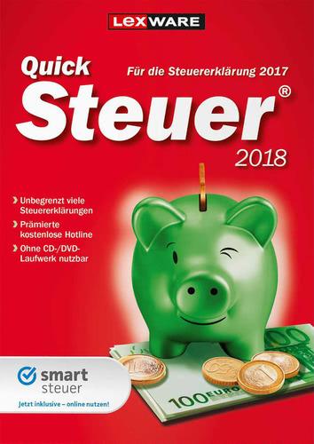 Verpackung von Lexware Quicksteuer 2018 (FFP) [PC-Software]