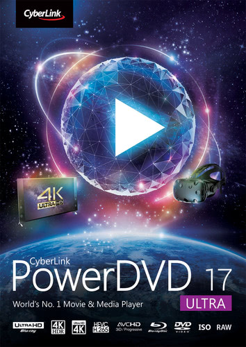 Packaging by CyberLink PowerDVD 17 Ultra [PC-software]