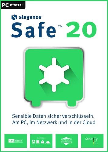 Verpackung von Steganos Safe 20 [PC-Software]