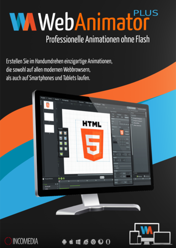 Verpackung von WebAnimator Plus [PC-Software]