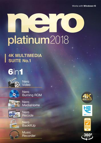 Packaging by Nero Platinum 2018 [PC-software]