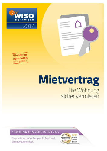 WISO Mietvertrag 2017, ESD (Download) (PC)