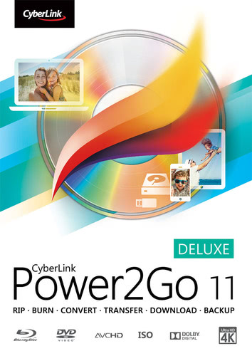Packaging by CyberLink Power2Go 11 Deluxe [PC-software]