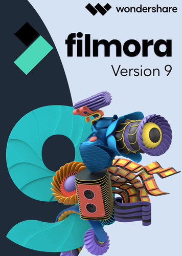 Verpackung von Wondershare Filmora Video Editor - lebenslange Lizenz [PC-Software]
