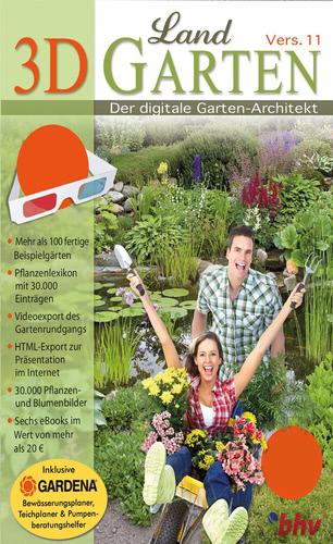 Verpackung von 3D Garten 11 [PC-Software]