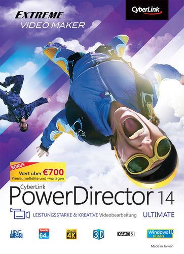 Power Director 14 Ultimate, Box (PC)