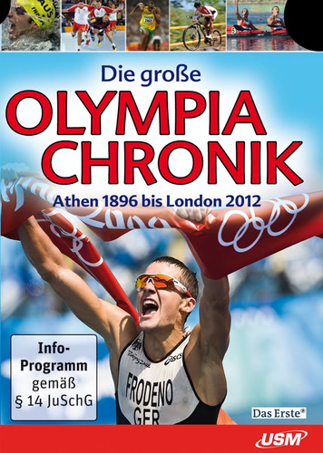 Verpackung von Die große Olympia Chronik 2012 [PC-Software]