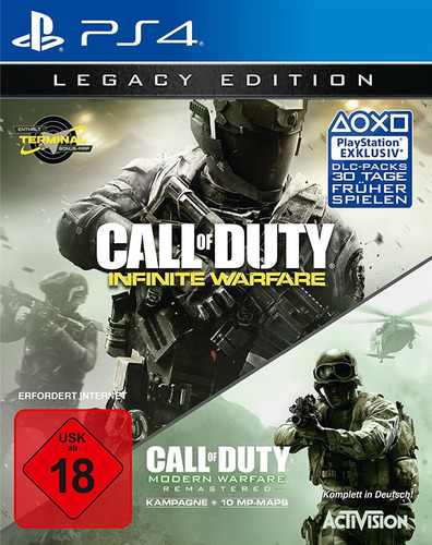 Verpackung von Call of Duty: Infinite Warfare Legacy Edition [PS4]